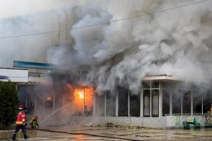 Fire and smoke damage due to electrical short circuit hits family fun center