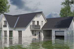 Without home insurance, flood damage can be a real headache