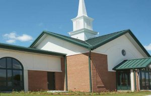 Church sustains water damage due to fire in adjacent building