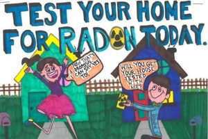 Wyoming school district has a creative way for radon awareness