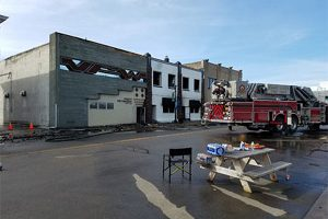 Several historic buildings suffer massive fire damage in Grand Rapids, MN
