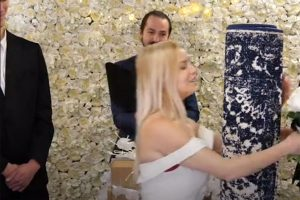 Woman marries a rug named Mat