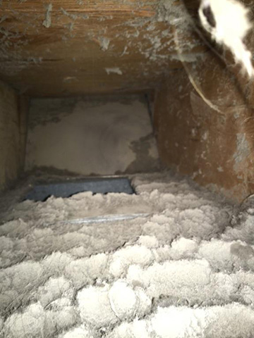 Air Duct Cleaning Before