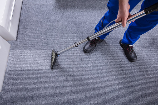 How hot water extraction carpet cleaning works