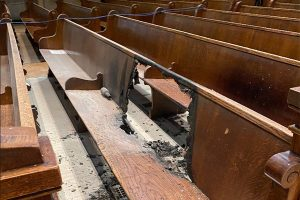 Minneapolis basilica sustains fire damage amid civil unrest